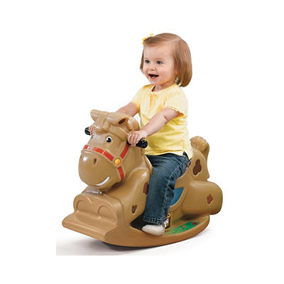 "Step 2 ""Patches"" The Rocking Horse"