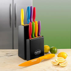 Tomodachi 10-Piece Cutlery Block Set