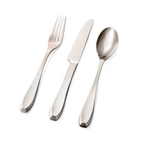 Hampton Forge Ayers 20-Piece Stainless-Steel Flatware Set
