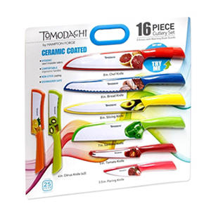 Tomodachi Fruit Prints 16-Piece Cutlery Set