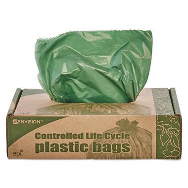 Stout Eco Degradable Plastic Trash Garbage Bag 33gal 1
