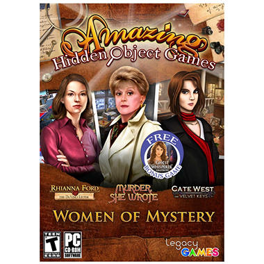 Legacy Interactive Amazing Hidden Object Games - Women of Mystery - PC