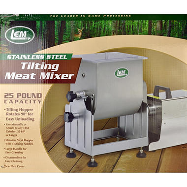 LEM Products Tilting Meat Mixer - 25 lb.