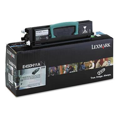 Lexmark E450 Series Toner Cartridge, Black (11,000)