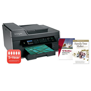 Lexmark Pro715 Wireless Multifunction Inkjet Printer