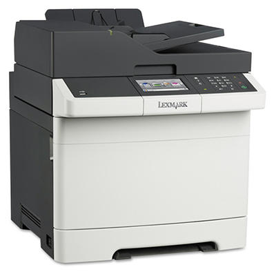 Lexmark CX410e Multifunction Color Laser Printer -  Copy/Fax/Print/Scan