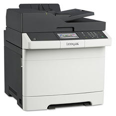 Lexmark CX410e Multifunction Color Laser Printer -  Copy/Fax/Print/Scan