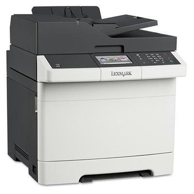 Lexmark CX410de Multifunction Color Laser Printer -  Copy/Fax/Print/Scan