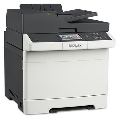 Lexmark CX410de Multifunction Color Laser Printer -  Copy/Fax/Print/Scan