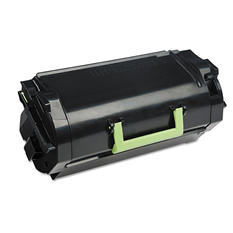 Lexmark 621 Toner Cartridge, Black, Select Type