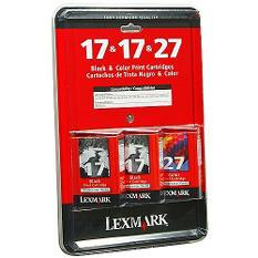 Lexmark #17 Black / #27 Color Ink Cartridge Combo Pack