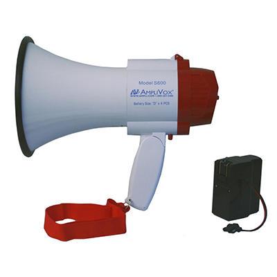 Amplivox Mini-Meg 10W Rechargeable Megaphone
