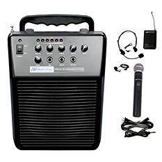 Amplivox Mity-Vox 20W PA with Lapel/Handheld Mic