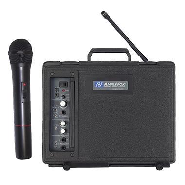 Amplivox Buddy 50W Wireless PA with Handheld Mic