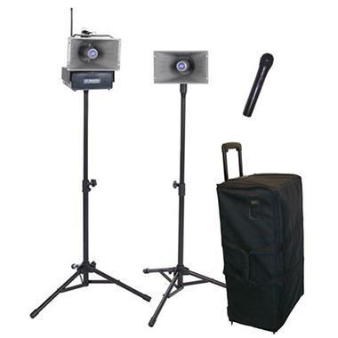 Amplivox Hailer PA Kit with Handheld Mic