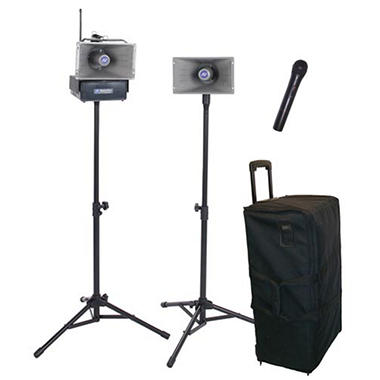 Amplivox Hailer PA Kit with Handheld Mic