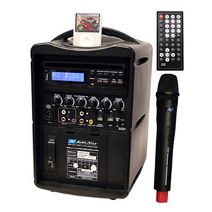Amplivox Ipod Wireless PA with Remote Control