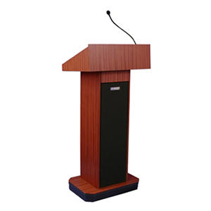 Amplivox 50W Sound Lectern with Wired Mic and 2 Speakers