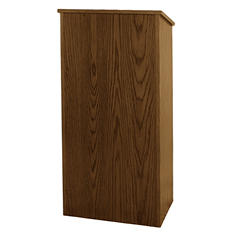 Amplivox Non-Sound Full Height Lectern, Select Color