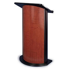 Amplivox Non-Sound Curved Sipping Seattle Java Lectern