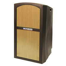 Amplivox Non-Sound Pinnacle Multimedia Lectern, Select Color