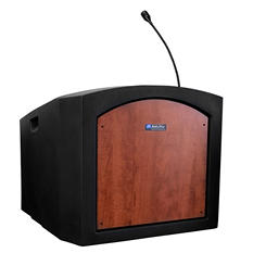Amplivox Non-Sound Pinnacle Tabletop Lectern, Select Color