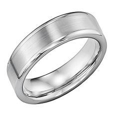 Tungsten Carbide 6mm Comfort Fit Wedding Band