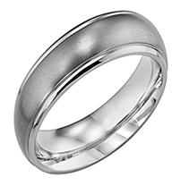 Click here for Titanium 6mm Comfort Fit Wedding Band 4.5 prices