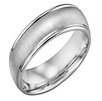 Click here for 14K White Gold 6mm Comfort-fit Wedding Band 8 prices