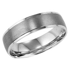 Matte Finish 5.5mm Comfort-Fit Wedding Band