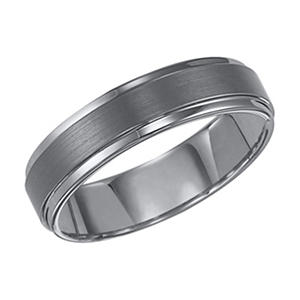 Tungsten Carbide 6mm Comfort-Fit Band