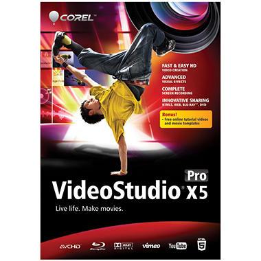 Corel VideoStudio Pro X5 - PC