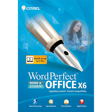 WordPerfect OfficeX6 Home & Student - PC