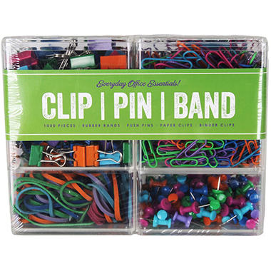 Everyday Office Essentials Access Clips (1,000 ct.)