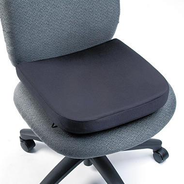 "Kensington Memory Foam Seat Rest, 13-1/2""w x 2""d x 14 1/2""h, Black"