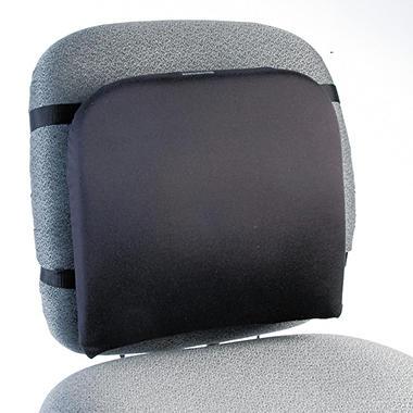 Kensington Memory Foam Backrest, 13-1/4w x 1-3/4d x 14-1/4h, Black