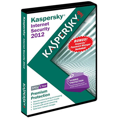 Kaspersky Internet Security 2012 with Password Manager 3U - PC
