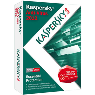 Kaspersky Anti-Virus 2012 1User - PC