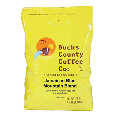 Bucks County Jamaican Blue Mountain Coffee - 2.5 lb.