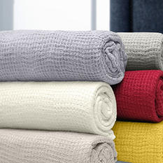 Linen Luxury Throw - Various Colors