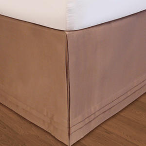 Matte Satin Adjustable Bed Skirt - Various Sizes & Colors