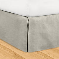 Linen Adjustable Bed Skirt - Various Sizes & Colors