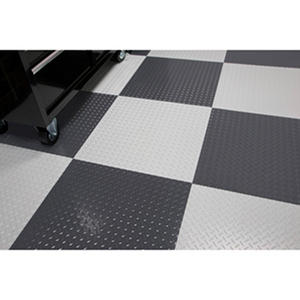 "RaceDay Peel & Stick Diamond Tread Tile - 24"" x 24"" (10-pk) Various Colors Available"
