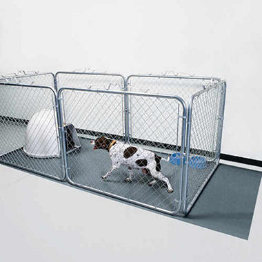 G floor pet kennel liner sam39s club for Dog kennel liner