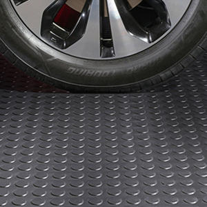 10 x 24 G-Floor Garage and Utility Flooring - Coin Pattern