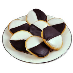 Beigel's Black & White Cookies - 24 ct.