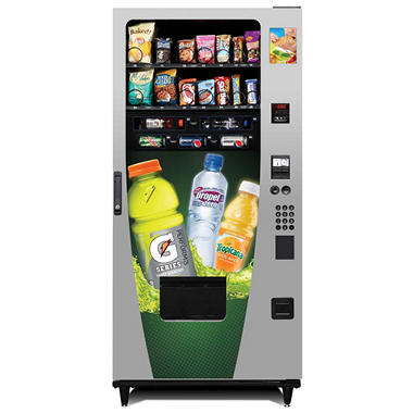 Advantage Gatorade� Snack & Drink Combo Vending Machine