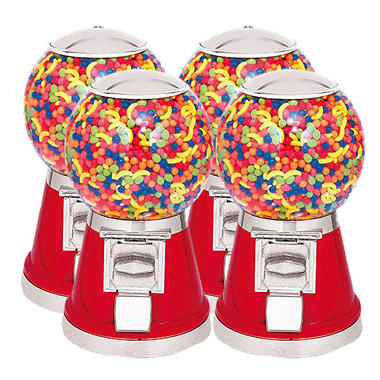 Selectivend Classic Gumball Machine - 4 pk. Special