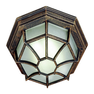 BelAir Lighting Post Top Lantern, 2 Light