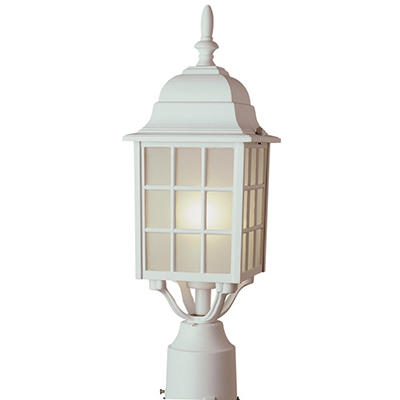 BelAir Lighting Post Lantern, 1 Light